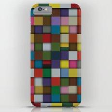 Patchwork iPhone 6 Plus Slim Case