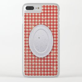 Zero food Clear iPhone Case