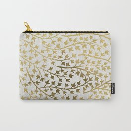 Gold Ivy Carry-All Pouch