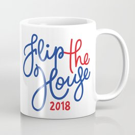Flip the House Blue 2018 Coffee Mug