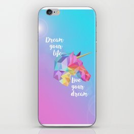 Pastel Unicorn iPhone Skin