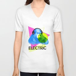 Electric Unisex V-Neck