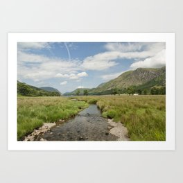 Buttermere, Lake District Art Print