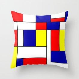 Mondrian #38 Throw Pillow