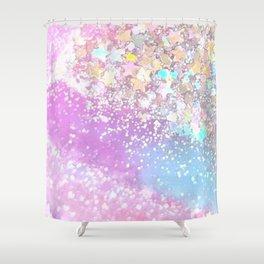 Pastel Kei Galaxy Shower Curtain