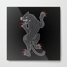 PP (Panther Power) Metal Print