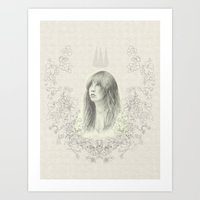 stevie nicks Art Prints featuring Stevie Nicks by leannebalderson