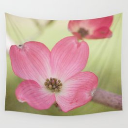 Pink Dogwood, 2 Wall Tapestry