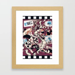 Bicycle Film Festival Framed Art Print