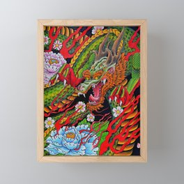 'Defend' 11''x 14'' Colored Pencil and Marker on Bristol Board 2012 Dan Gribben Framed Mini Art Print