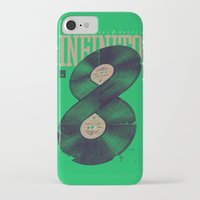 moto iPhone & iPod Cases featuring Moto Perpetuo by Vó Maria