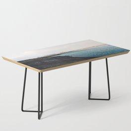 From the other side, Jökulsárlón, Iceland Art Print Coffee Table