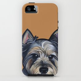 Rigoletto the cairn terrier iPhone Case