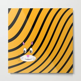 Terry the Tiger Metal Print