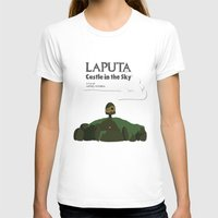 castle in the sky T-shirts featuring Laputa Castle in the Sky by okayleigh