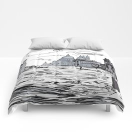 Venice City on the Water . Home Decor, Graphic Design Comforters