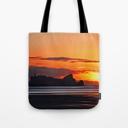 Belfast Ferry (Digital Art) Tote Bag