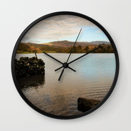 Rydal Water Morning Wall Clock