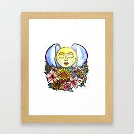 Healed With Love Framed Art Print
