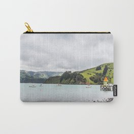 Daly's Pier, Akaroa, New Zealand Carry-All Pouch