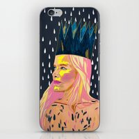 princess bubblegum iPhone & iPod Skins featuring Bubblegum Princess by AprilNicole