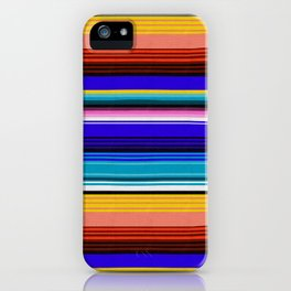 Mexican Stripes iPhone Case