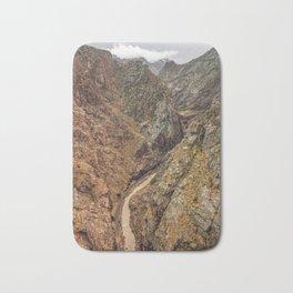 Royal Gorge Landscape with Arkansas River Bath Mat