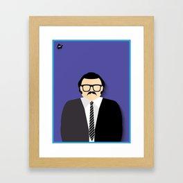 Seu Barriga Framed Art Print