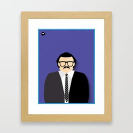 Seu Barriga Framed Art Print