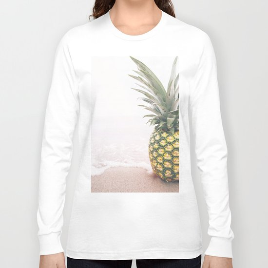 Pineapple Beach Long Sleeve T-shirt