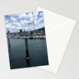 Boats In Chaffers Marina Stationery Cards