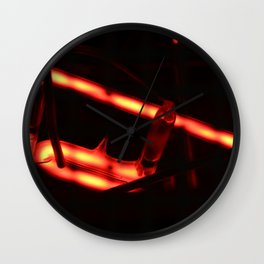 I Know Why The Caged Neon Hums Wall Clock