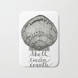 Shell Concha Coquille Bath Mat