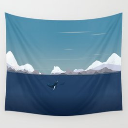Arctic Sea Wall Tapestry