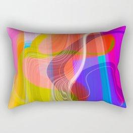 Digital Abstract #2 Rectangular Pillow