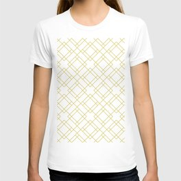 Simply Mod Diamond in Mod Yellow T-shirt
