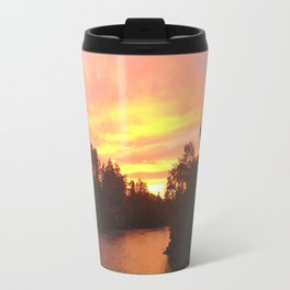 Rogue River, Grants Pass, Sunset Travel Mug