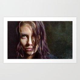Maggie Rhee - The Walking Dead Art Print