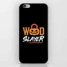 WOD Slay er Pumpkin iPhone Skin