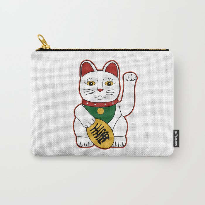 Maneki Neko - lucky cat Carry-All Pouch