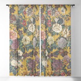 Exotic Garden V Sheer Curtain