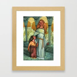 Lady Igraine Framed Art Print
