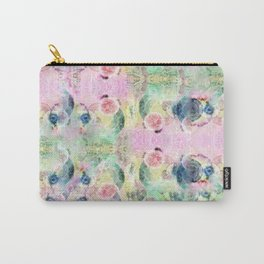 Ysmite Argate-minerals crystal, floral, pastel, abstract, hippie Carry-All Pouch