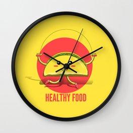 Healthy Food Wall Clock