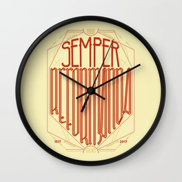 Semper Reformanda: Celebrating the 500th Anniversary of the Protestant Reformation Wall Clock