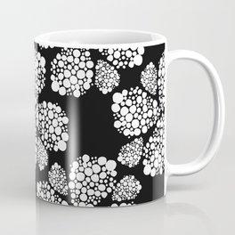 Flowers black and white Coffee Mug