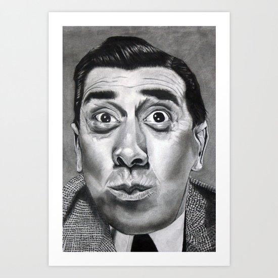 The Frenchman (Fernandel)  Art Print