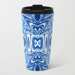 65 - Psychedelic Blues Travel Mug