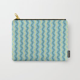 Silken Serpentine Stripes Carry-All Pouch