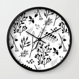 Spring Sprig Multi Wall Clock